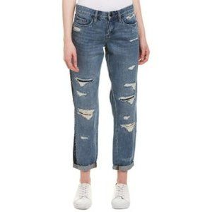 Blanknyc Crop Girlfriend Destroyed Jeans Tuxedo 25